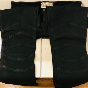 Current/Elliot skinny Moto Jeans